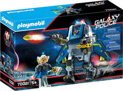 Playmobil® Konstruktions-Spielset »Galaxy Police-Roboter (70021), Galaxy Police«, (59 St), Made in Europe
