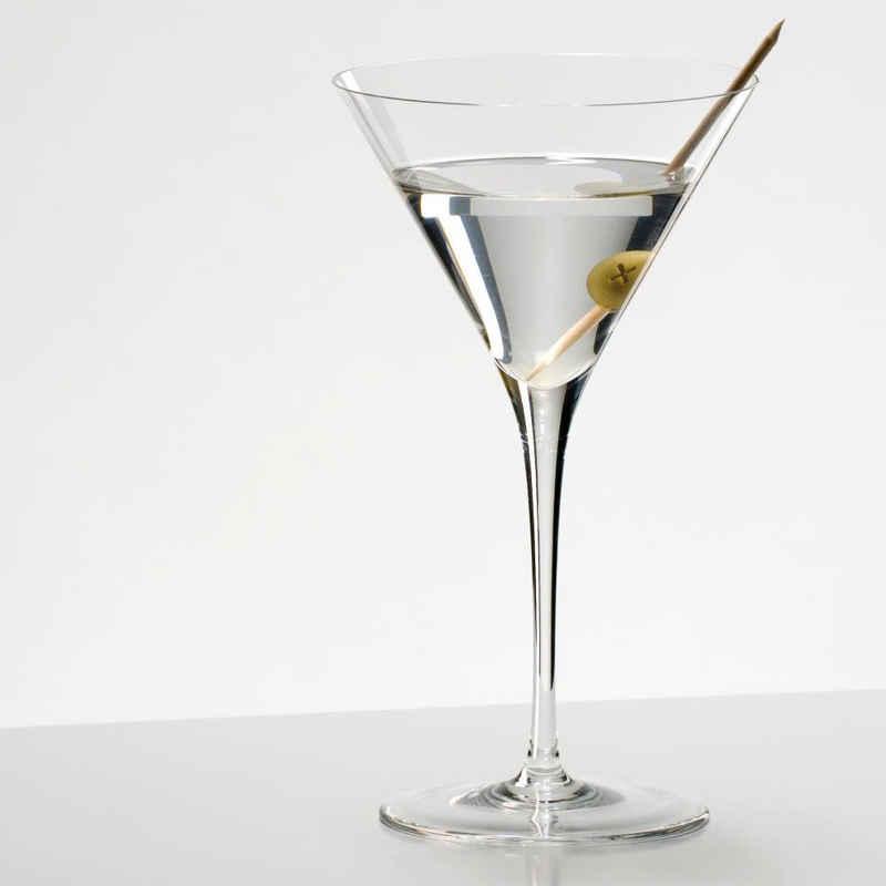 RIEDEL Glas Martiniglas »Sommeliers Martini 210 ml«, Kristallglas