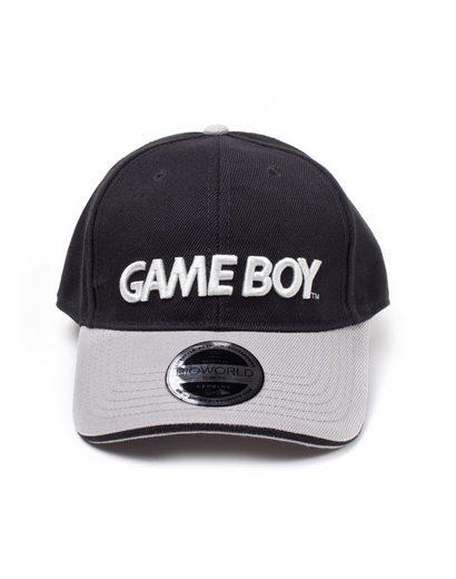 Nintendo Baseball Cap »Nintendo Black/Grey Gameboy Logo Curved Bill Cap NEU COOL«