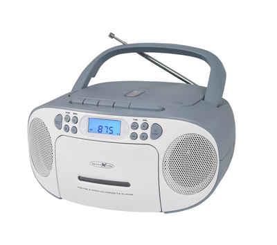 Reflexion »RCR2260« Boombox (UKW PLL Stereo Radio, 20 W, Tragbare Boombox CD/Radio/Kassette)