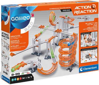 Clementoni® Experimentierkasten »Action & Reaction - Speed Race«, Made in Europe