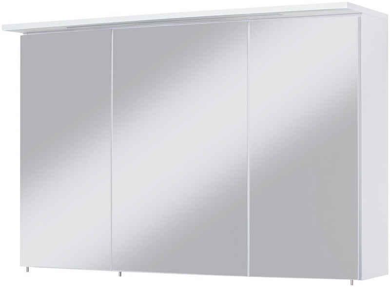 HELD MÖBEL Spiegelschrank »Flex« Breite 100 cm, mit 3D-Spiegeleffekt
