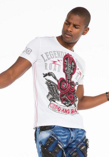 Cipo & Baxx T-Shirt mit Print