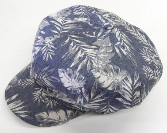 Chaplino Ballonmütze mit floralem Allover-Motiv