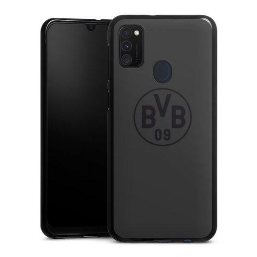 DeinDesign Handyhülle »BVB Grau« Samsung Galaxy M21, Hülle Borussia Dortmund Logo BVB