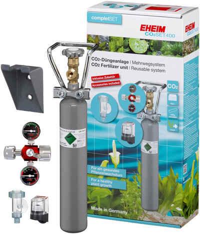 EHEIM Aquariumpflege »SET400«, (Set), CO²-Düngeanlage mit 500g Flasche, Mehrweg