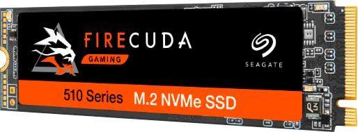 Seagate »FireCuda 510 NVMe SSD 1TB« Gaming-SSD (1 TB) 3450 MB/S Lesegeschwindigkeit, 3100 MB/S Schreibgeschwindigkeit)