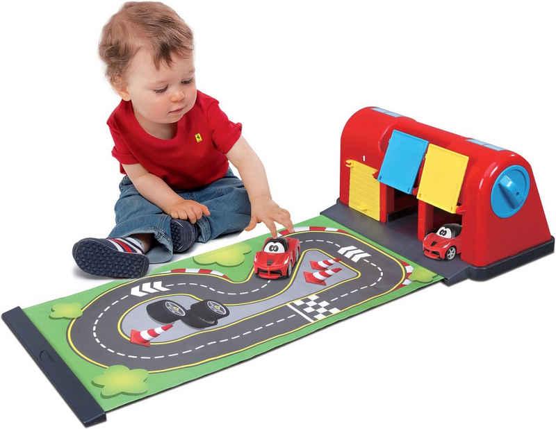 bbJunior Spiel-Parkgarage »Ferrari Roll Away Raceway«, mit ausrollbarer Spielmatte sowie 1 Fahrzeug
