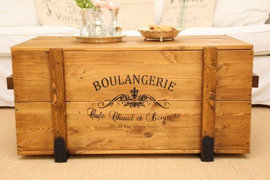 Uncle Joe´s Truhentisch »Boulangerie«  im Vintage-Look