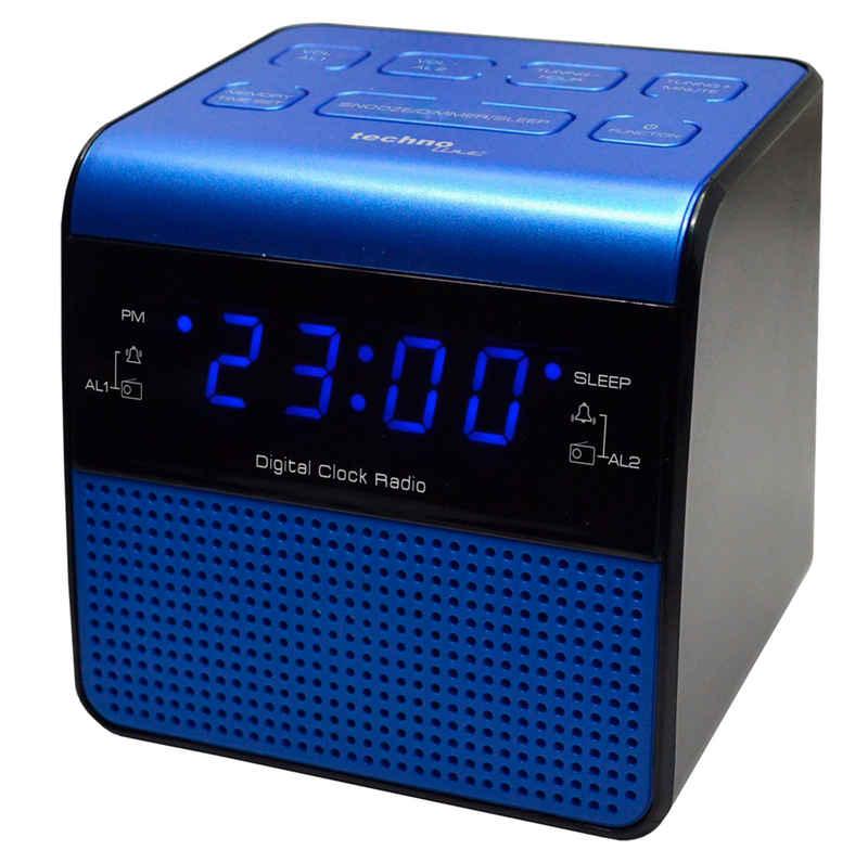 technoline Radiowecker »WT 463« mit Senderspeicher und Sleep-Timer