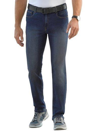Classic Jeans mit Knittereffekt