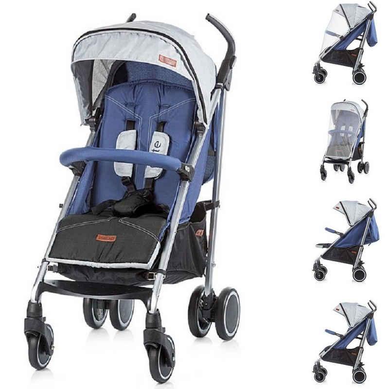 Chipolino Kinder-Buggy »Kinderwagen, Buggy Exte«, zusammenklappbar, Sonnendach, Moskitonetz