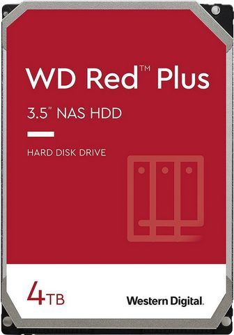 Western Digital »WD Red Plus« HDD-NAS-Festplatte 35