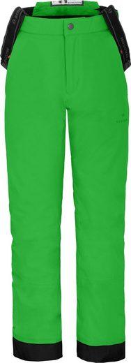 Bergson Skihose »PELLY« wattierte Kinder Skihose mit 20.000er Wassersäule, Normalgrößen, grün