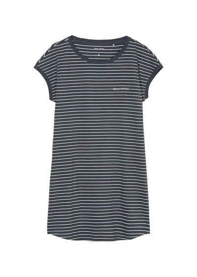 Marc O'Polo Nachthemd »Damen Nachthemd - Sleepshirt, Rundhals,«