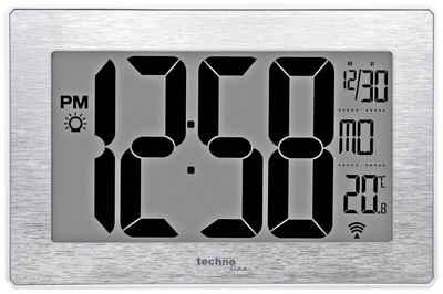 technoline Funkwanduhr »WS 8019« (mit Temperaturanzeige)
