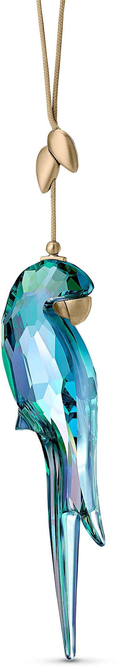 Swarovski Dekoobjekt »Jungle Beats Papagei Ornament, 5572151« (1 Stück), Swarovski® Kristall