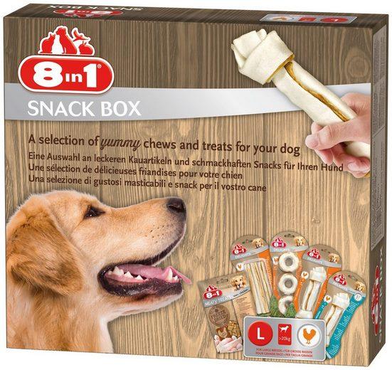 8in1 Hundesnack »Snackbox L«, mit 5 versch. Sorten
