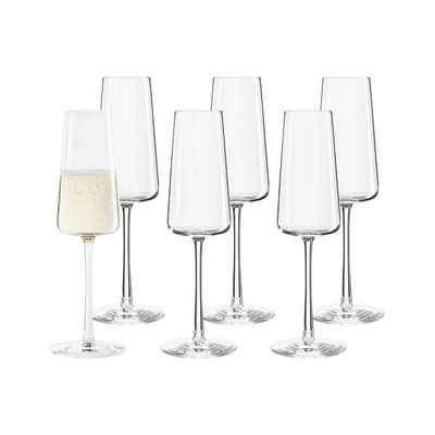 Stölzle Champagnerglas »POWER Champagnerglas 240 ml 6er Set«, Glas