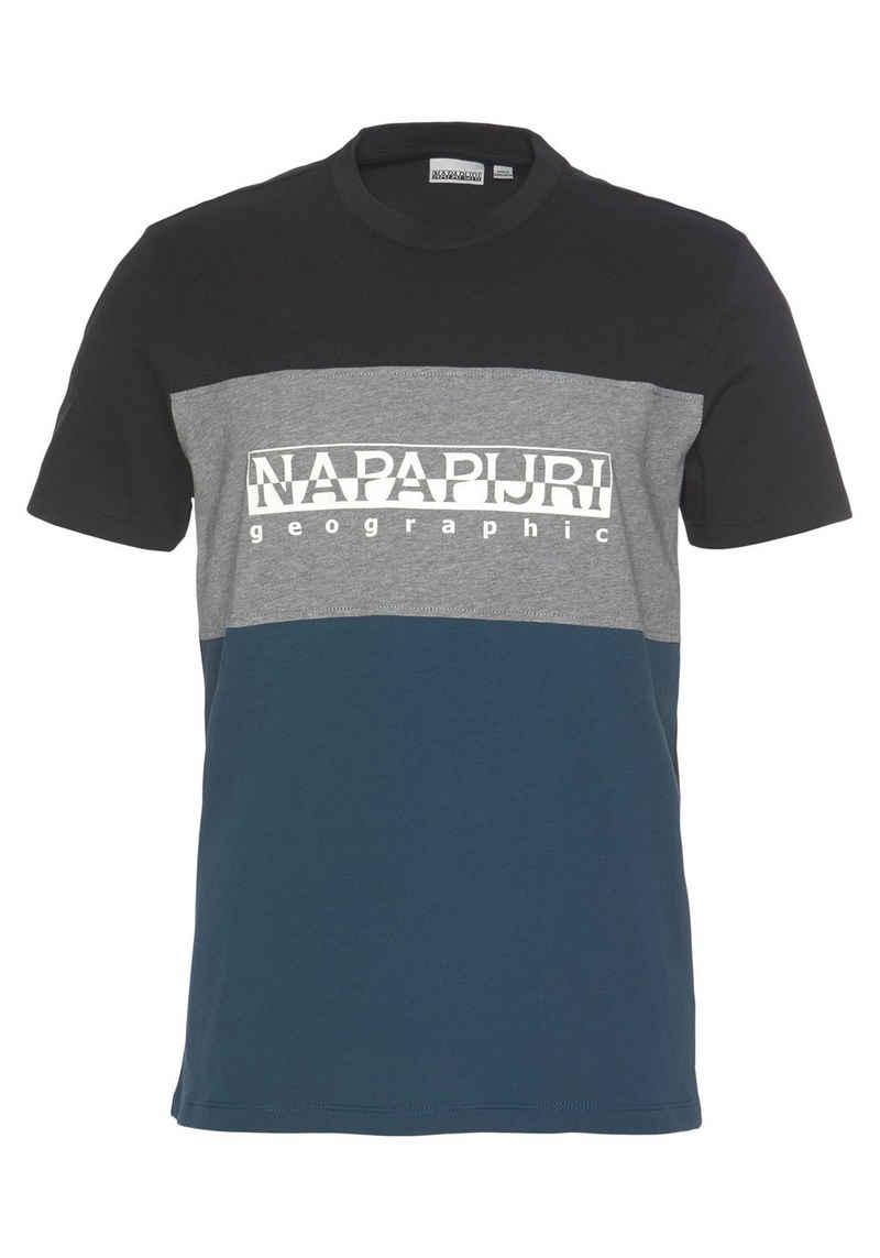 Napapijri T-Shirt »SOGY CB SS 2« mehrfarbig
