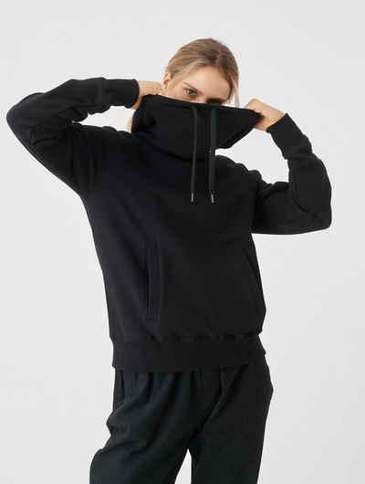Cleptomanicx Kapuzensweatshirt »High Collar« mit hohem Kragen