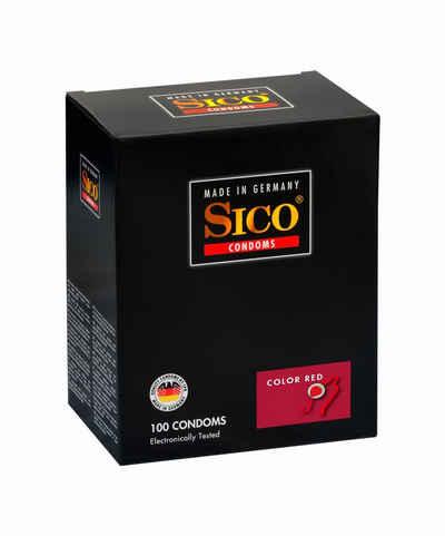 SICO Kondome »Color Red, 100er Box«, 1 St.