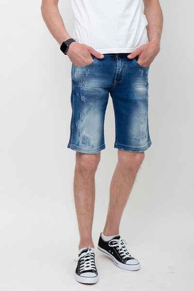 Foja Jeans Bermudas »Malta Shorts Made in Europe« 5-Pocket-Style