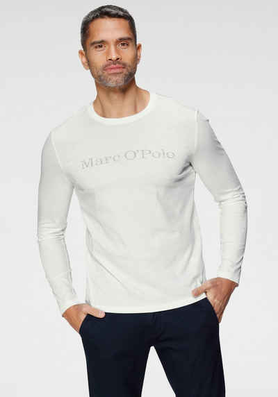 Marc O'Polo Langarmshirt mit Mar O`Polo Druck