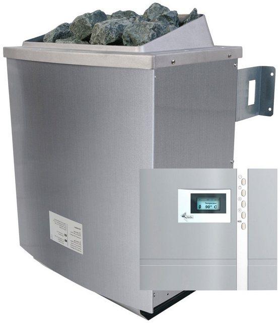 KARIBU Saunaofen »4|5 kW«| inkl. ext. Steuerung »Premium« und 18 kg Saunasteine | Bad > Sauna & Zubehör > Saunaöfen | Karibu