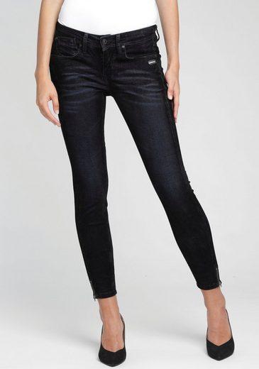 GANG Skinny-fit-Jeans »FAYE« sexy Beinabschluss mit Reißverschluss