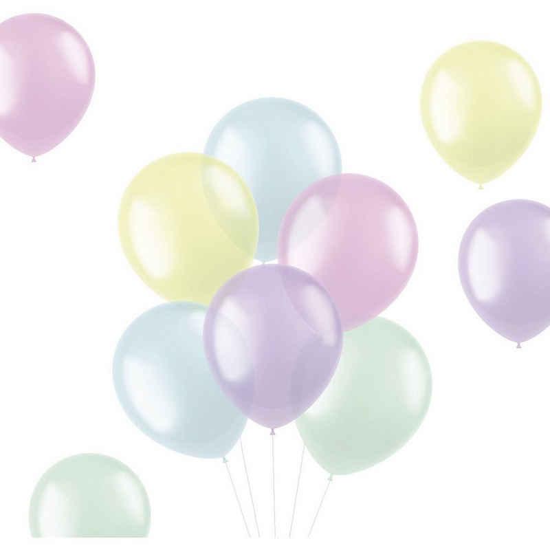 Folat Luftballon »Luftballons Translucent Brights 33 cm, 50 Stück«