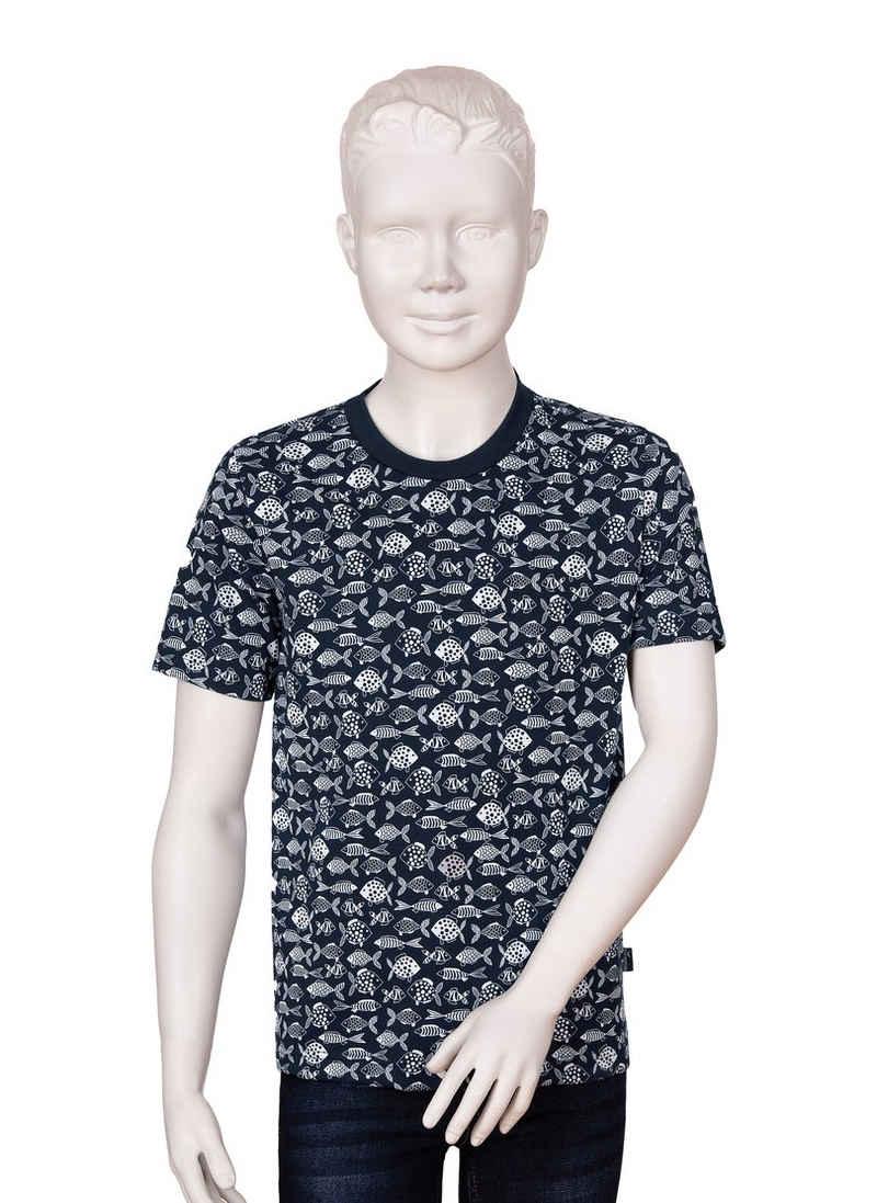 Trigema Print-Shirt mit modernem Druckmotiv