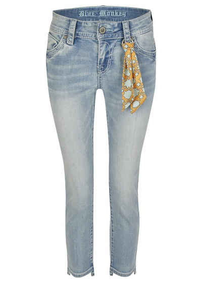 Blue Monkey 7/8-Jeans »Charlotte« (1-tlg)