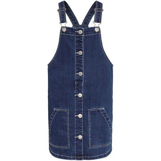 WE Fashion Jeansrock »Kinder Jeans-Latzrock BRODY«