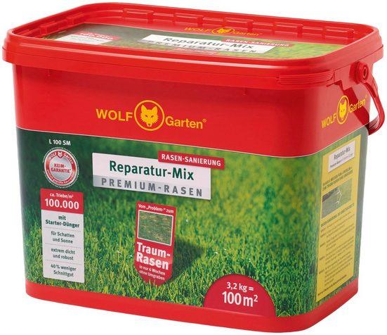 WOLF-Garten Rasensamen »L 100 SM Reparatur-Mix«, 3,2 kg