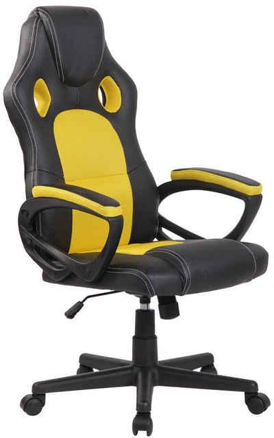 CLP Gaming Chair »Fire Kunstleder«, höhenverstellbar und drehbar