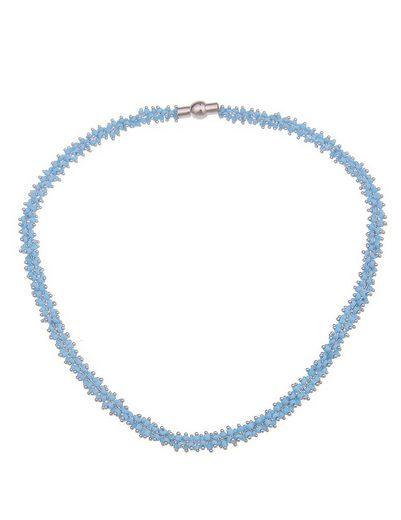 leslii Kette ohne Anhänger »Perlchen Collier«, aus kleinen blauen Perlen