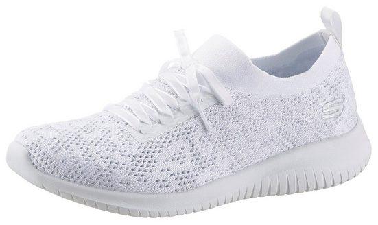 Skechers »ULTRA FLEX« Slip-On Sneaker mit sockenähnlichen Schaft
