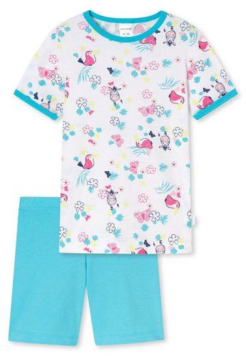 Schiesser Pyjama »Mädchen Schlafanzug Set - kurz, Shorty, Kinder«