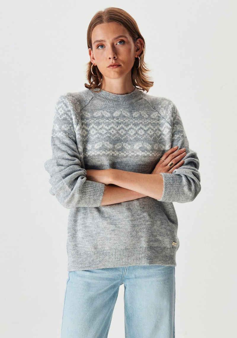 LTB Strickpullover »WALADE« mit tollem Norwegermuster