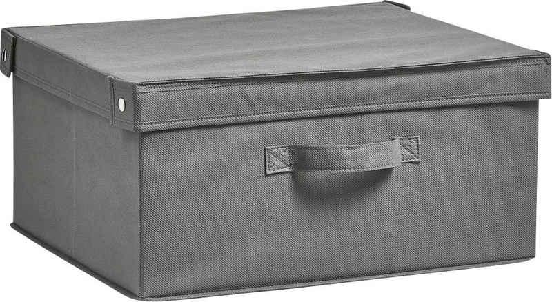 Zeller Present Aufbewahrungsbox »Faltbar« (1 Stück), mit Deckel, Tiefe: ca. 35 cm, Breite: ca. 41 cm
