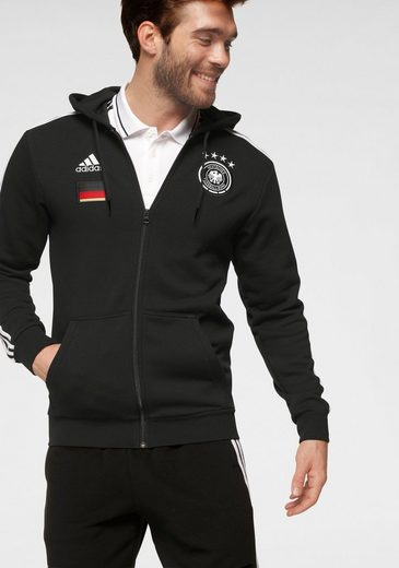 adidas Performance Kapuzensweatjacke »DFB FULL ZIP HOODY«