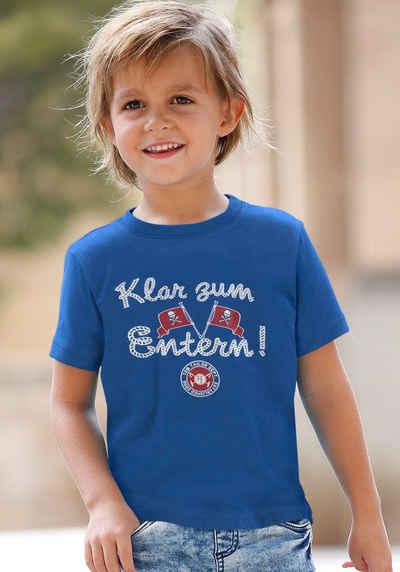TOM TAILOR Polo Team T-Shirt »Klar zum Entern!«