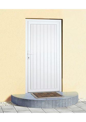 KM Zaun Haustür »K608P« BxH: 88x188 cm weiß in...