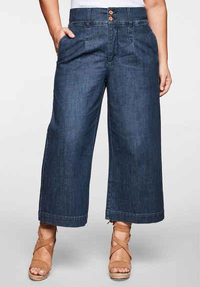 Sheego Stretch Jeans Gr Long Größen 40-58 Blue, 118