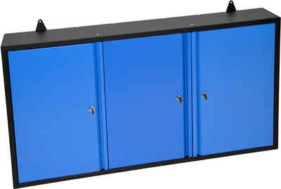 Güde Hängeschrank B/T/H: 120x20x60 cm, 3 Türen, abschließbar, für Werkstatt GWS 3T