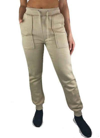Worldclassca Jogginghose »Worldclassca Damen Jogginghose jogger Sweathose Hose Trainingshose Sporthose Loungewear Homewear Fitnesshose Freizeithose Sweatpants Damenhose Designer Blogger XXS-L 32-40«