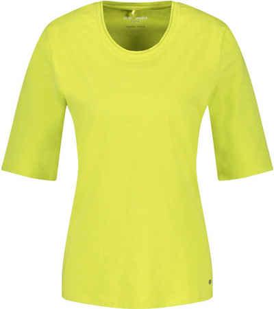 GERRY WEBER Kurzarmshirt Basic-Form in stylischen Trendfarben