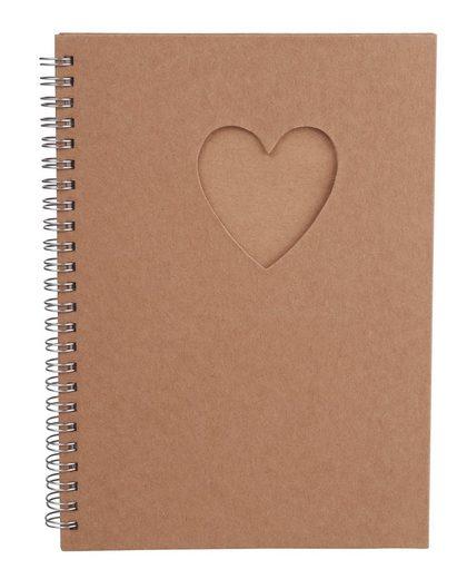 VBS Notizbuch »Passepartout Herz«, DIN A5