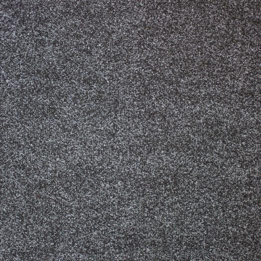 Teppichfliese »Madison«, quadratisch, Höhe 6 mm, anthrazit, selbstliegend